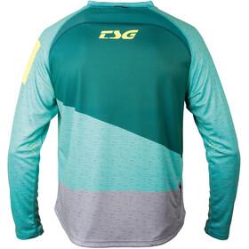 TSG Breeze LS Jersey Men teal-dark green